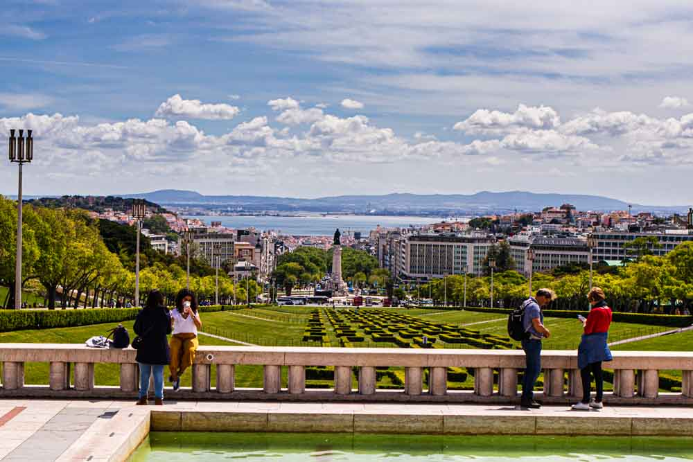 View of Lisbon from Parque Eduardo VIII
