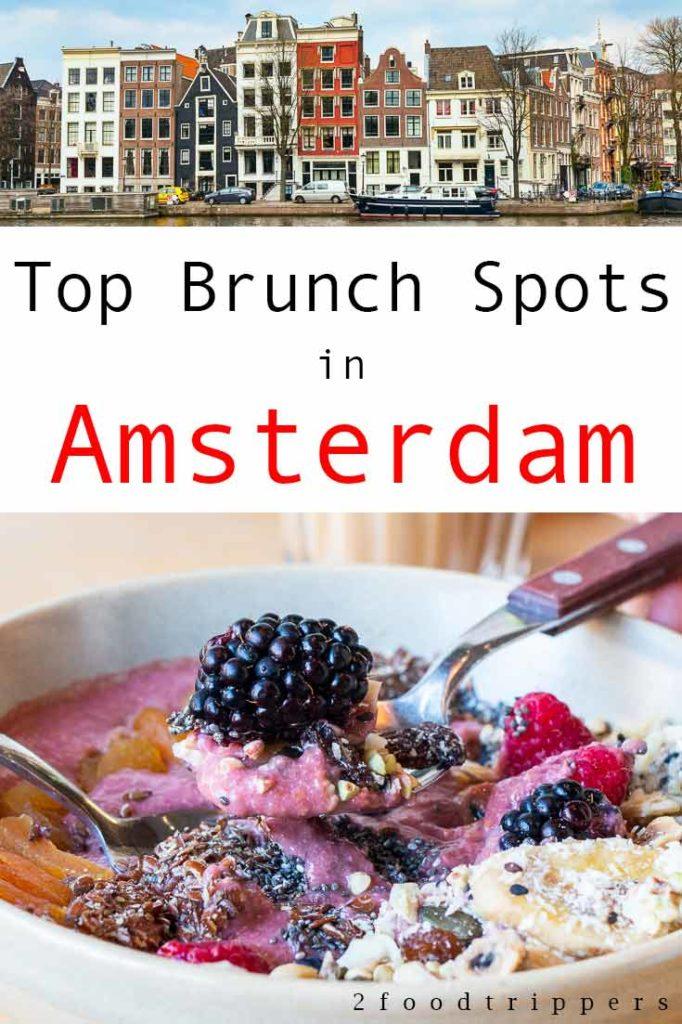 Amsterdam Brunch Pin