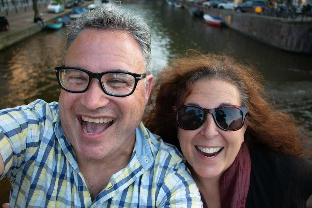 Amsterdam Canal Selfie