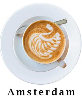 Amsterdam Coffee Plate
