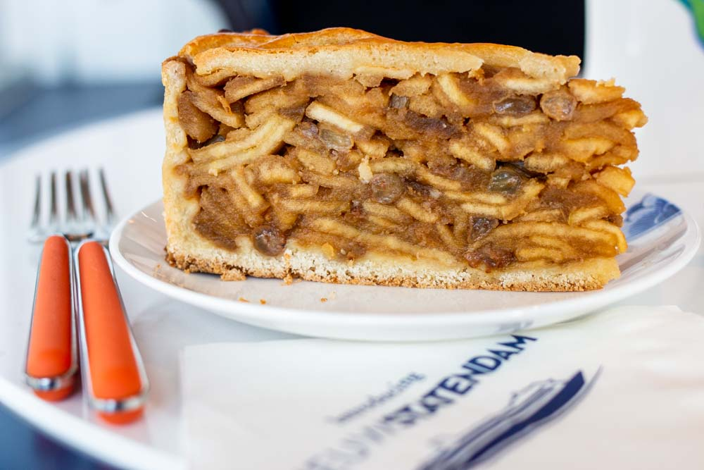 Apple Pie at Grand Dutch Cafe on Nieuw Statendam Holland America Norway Cruise