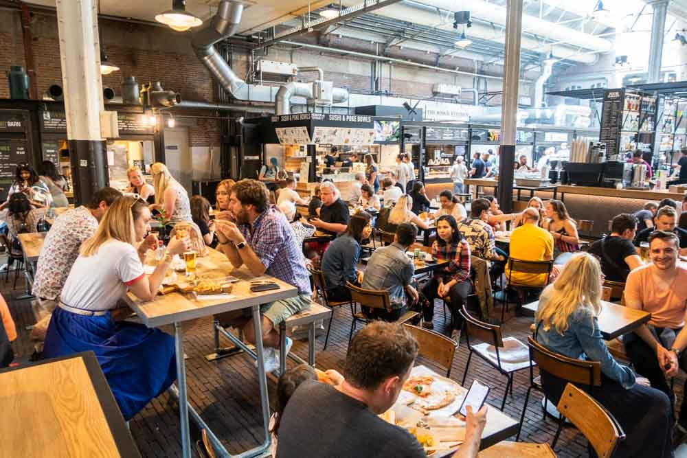 Foodhallen in Amsterdam