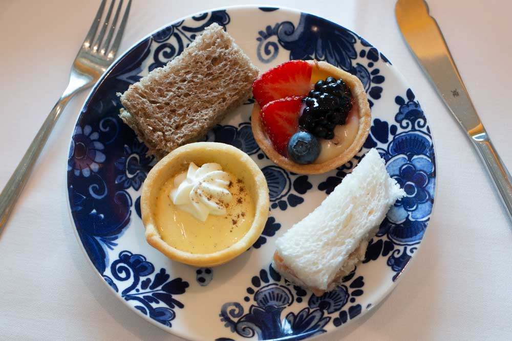 High Tea on Nieuw Statendam Holland America Norway Cruise