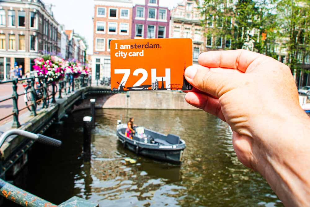 I Amsterdam Card in Amsterdam