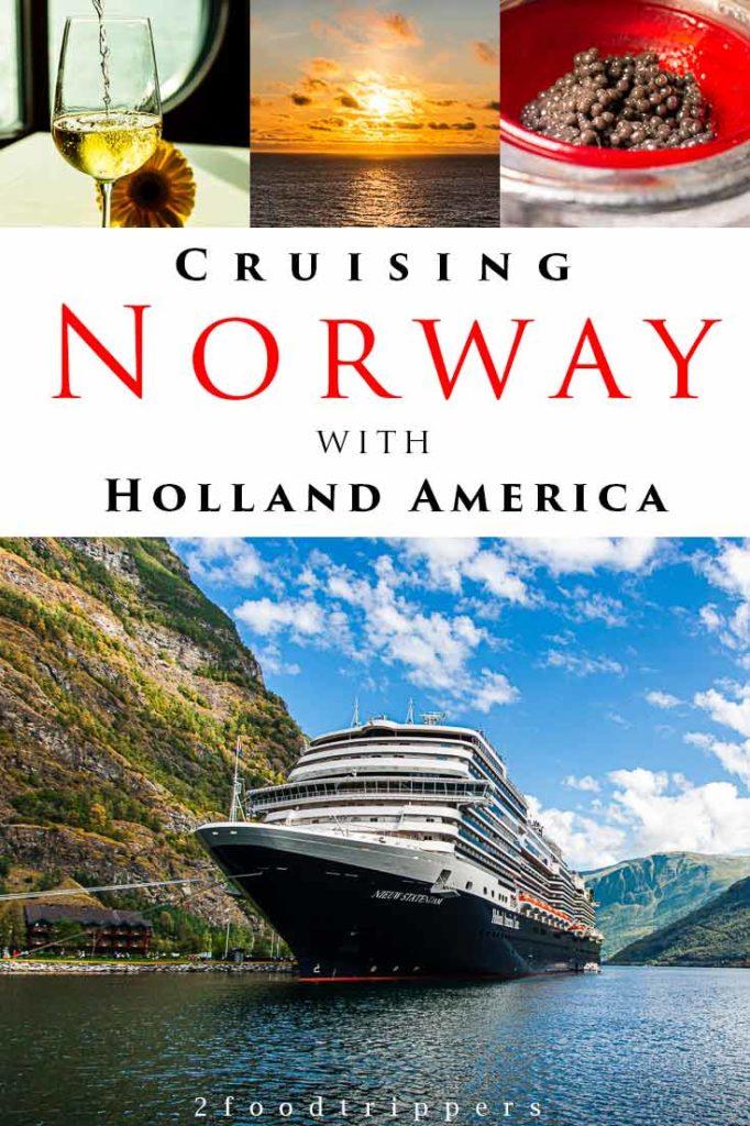 Norway Cruise Pin 1