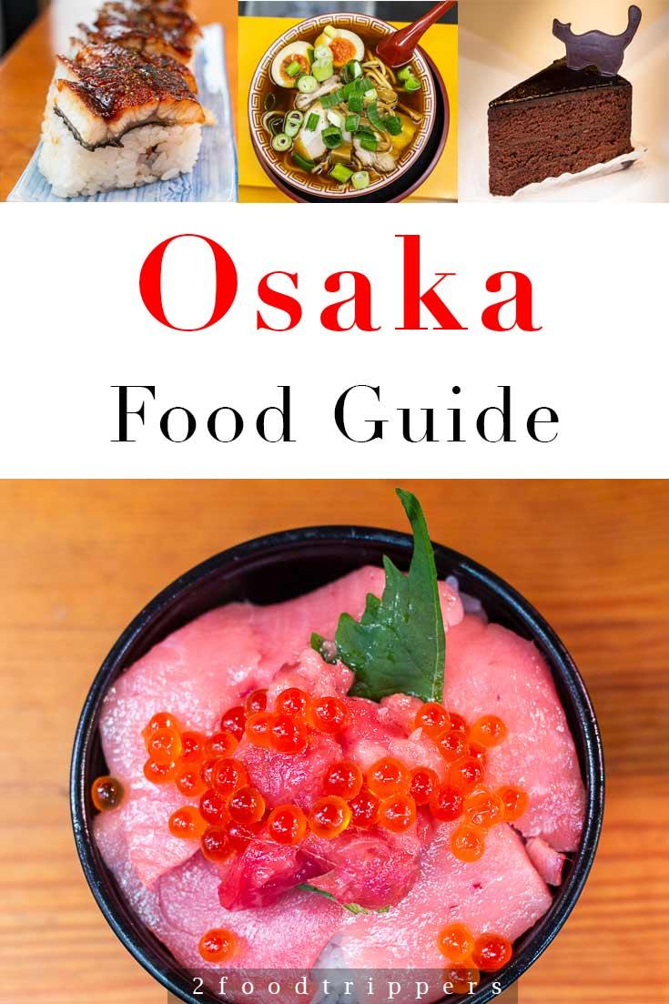 Osaka Food Guide Pin