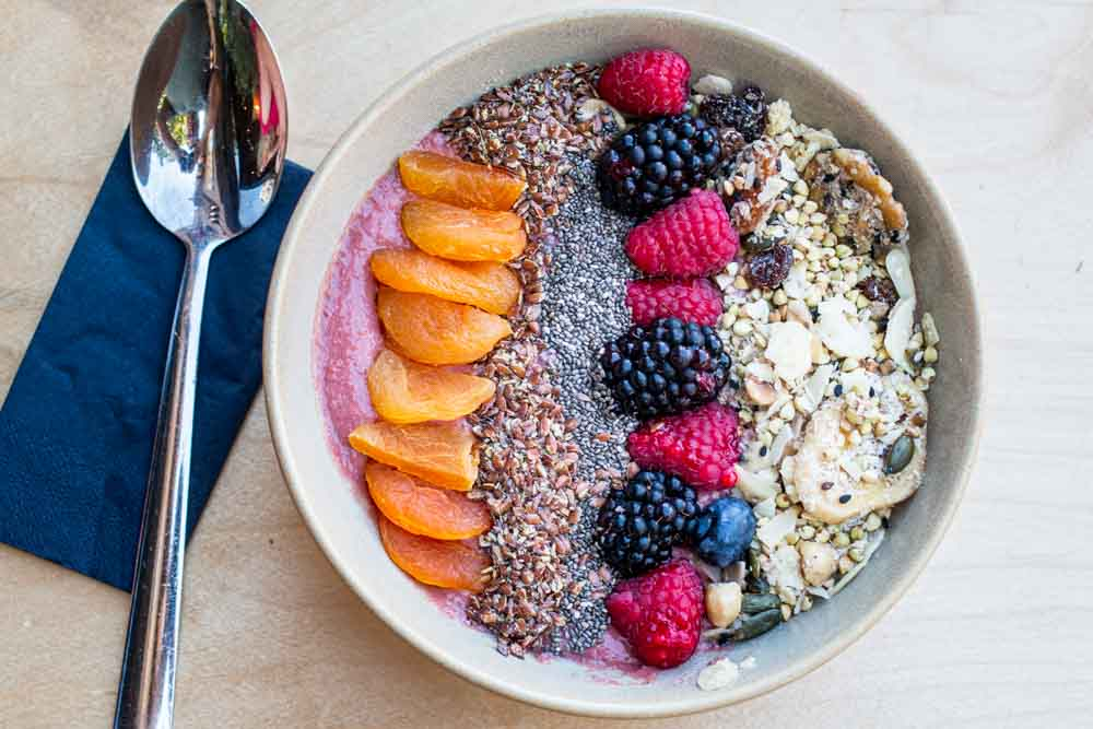 Smoothie Bowl at CT Coffee & Coconuts in Amsterdam