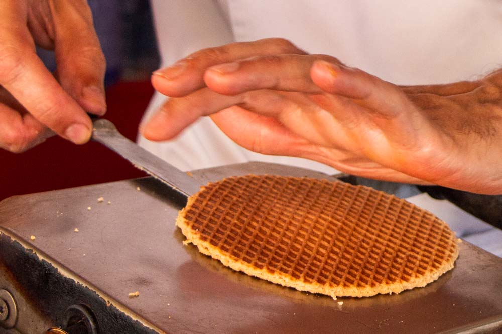 Stroopwafel at Original Stroopwafels in Amsterdamjpg