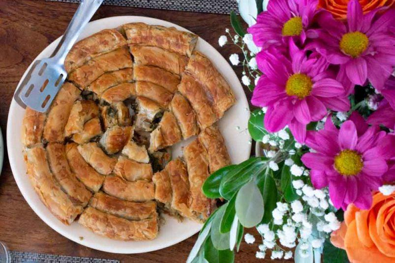 Breakfast at Villa Hurmuses in Mykonos