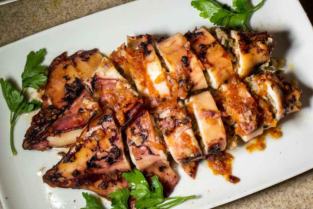 Mykonos Food - Calamari