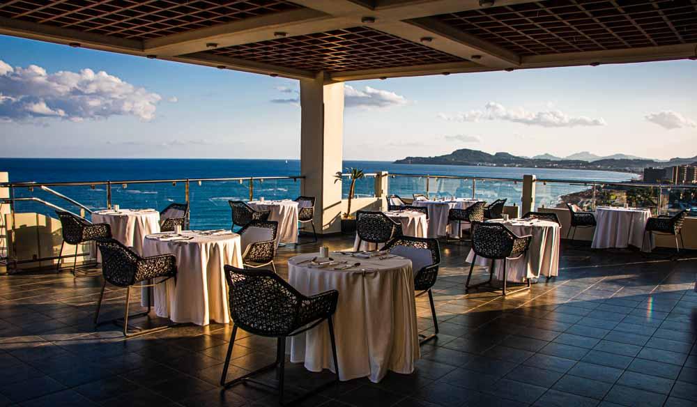 Breakfast Room at Elysium Resort in Rhodes