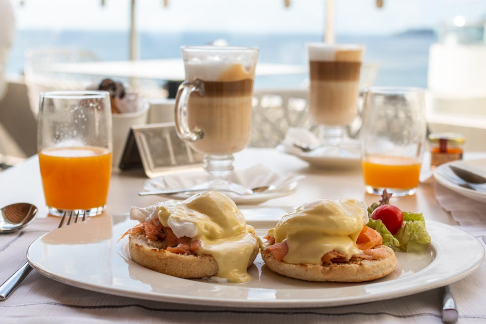 Breakfast at Elysium Resort in Rhodes