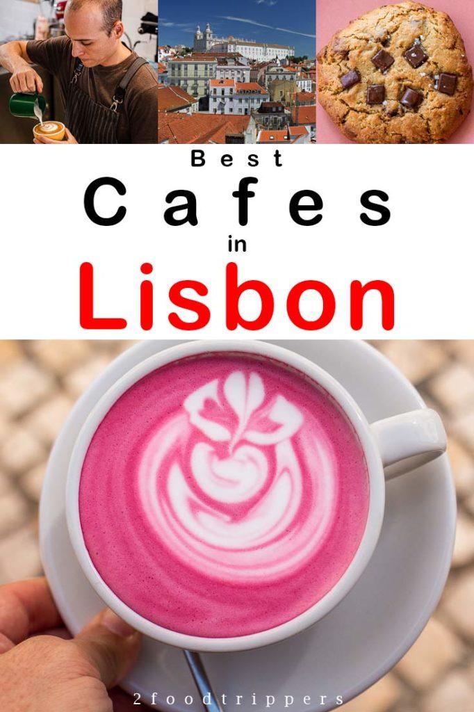 Lisbon Cafes Pin