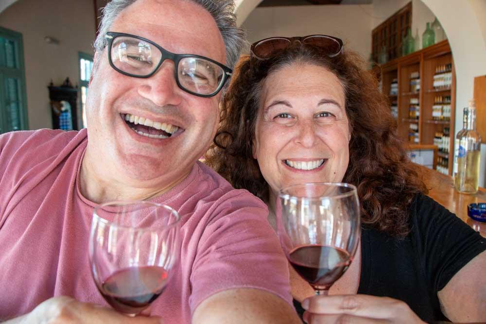 Selfie at Anastasia Triantafillou in Rhodes