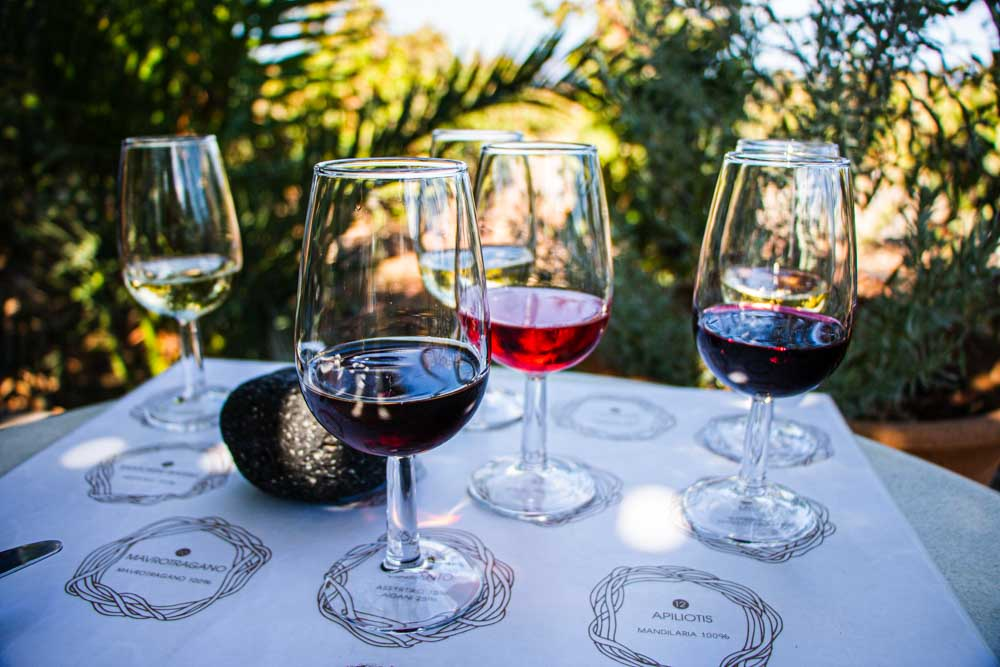 Wine Tasting at Domaine Sigalas in Santorini