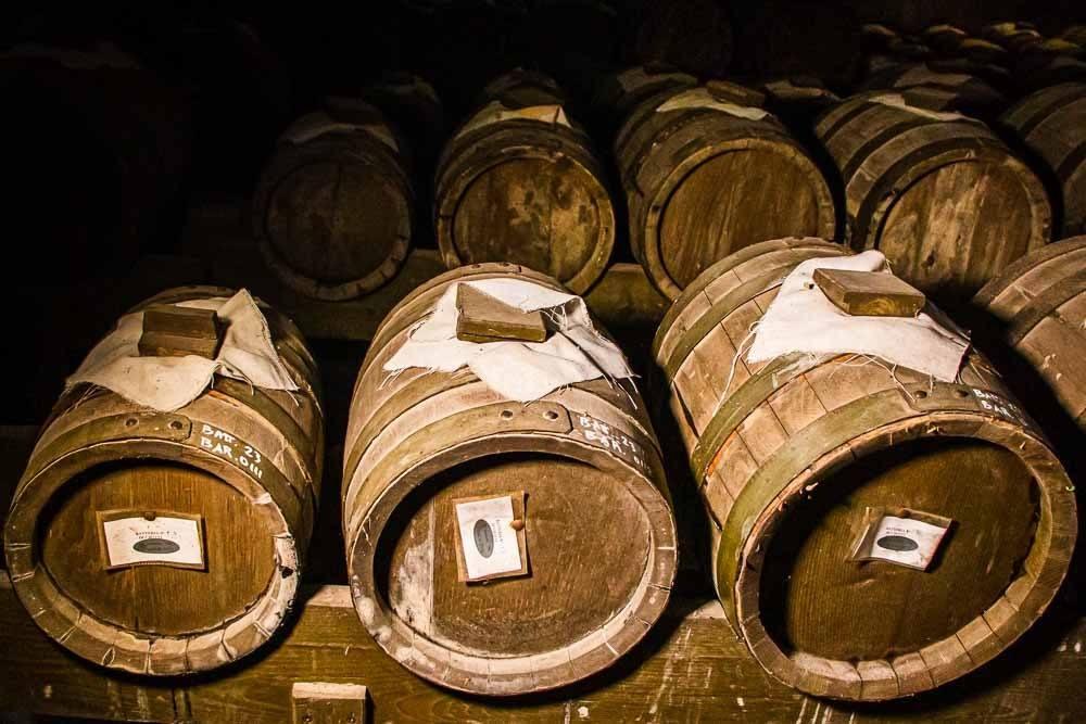 Balsamic Vinegar Barrels at Tenuta Venturini Baldini in the Food Valley