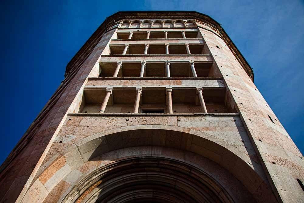 Baptistery of Parma Italy