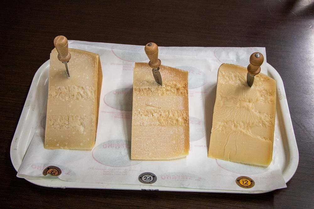 Cheese Tasting at Latteria Sociale S.Stefano in the Food Valley