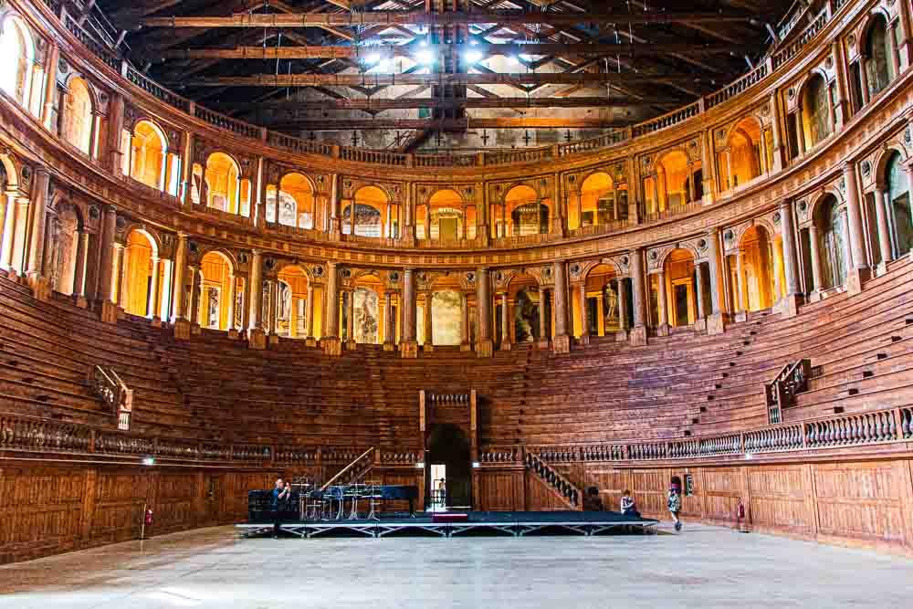 Teatro Farnese in Parma Italy