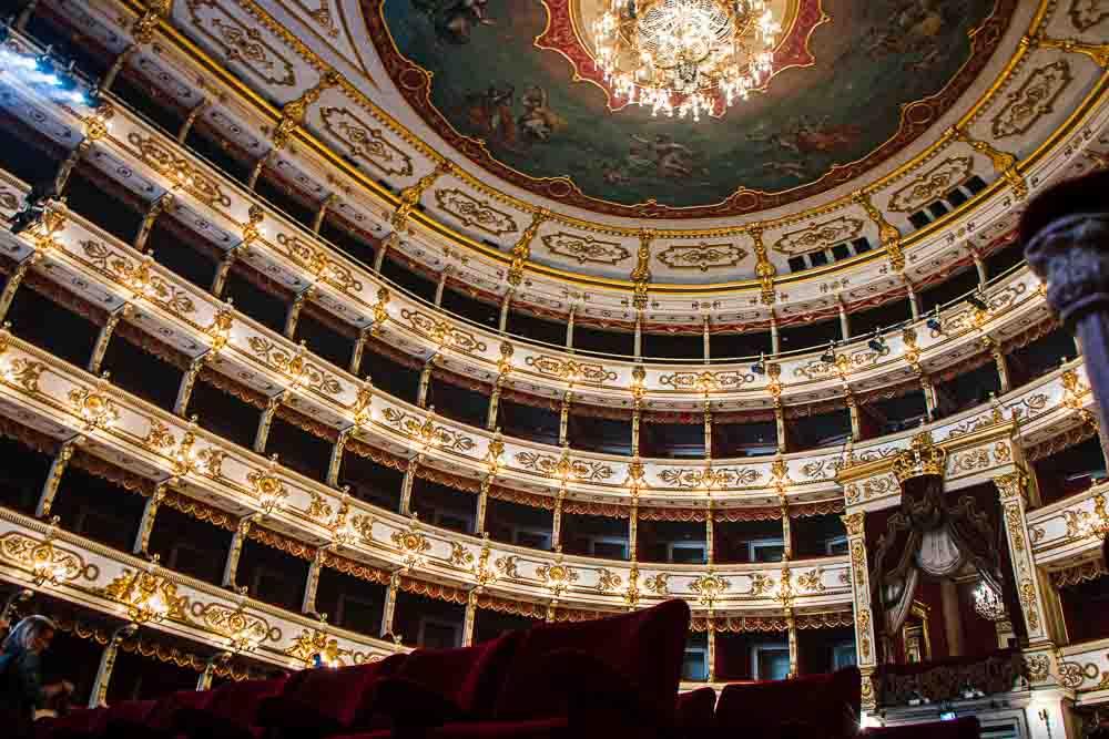 Teatro Regio in Parma Italy