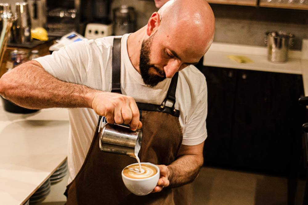 Barista at Menomoka in Modena