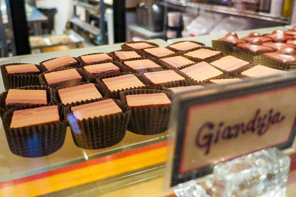 Chocolate at Les Chocolats de Chloe in Montreal