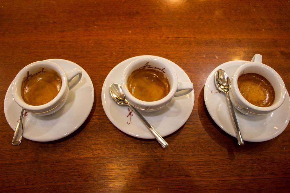 Coffee at Torrefazione Anceschi in Parma