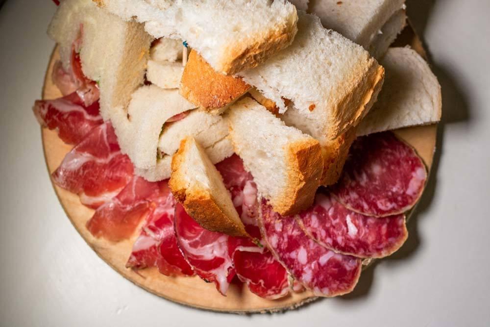 Cured Meat at Ristorante La Greppia in Parma