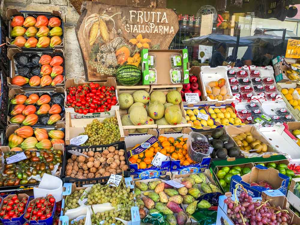 Fruit Market in Parma