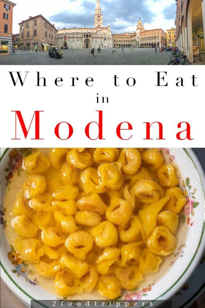 Modena Restaurants Pin 3