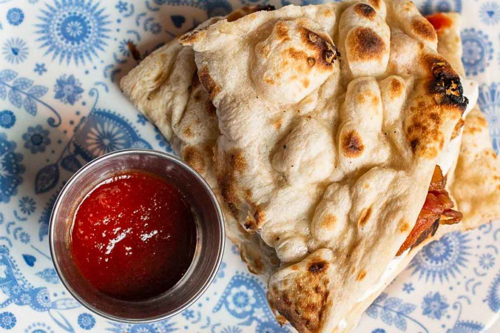 Naan at Dishoom in London
