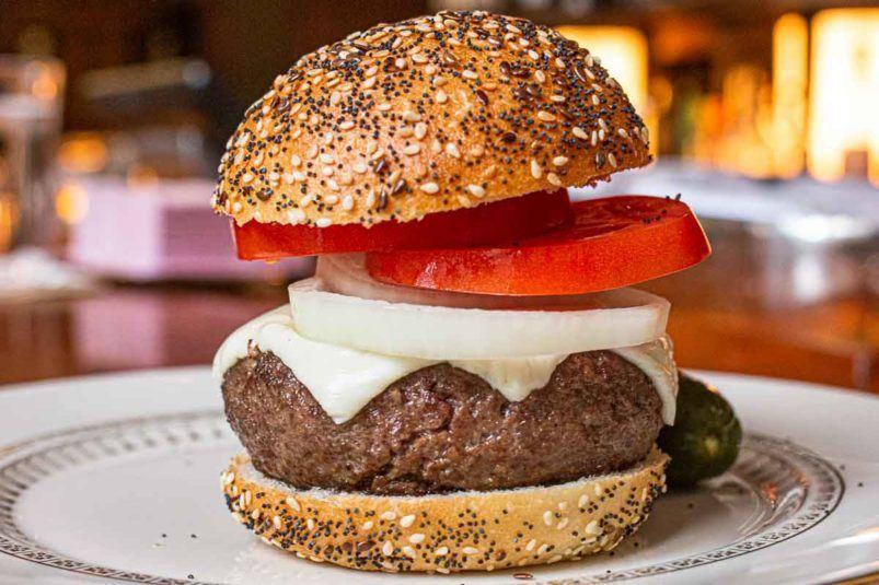 New York Hamburger at The Grill