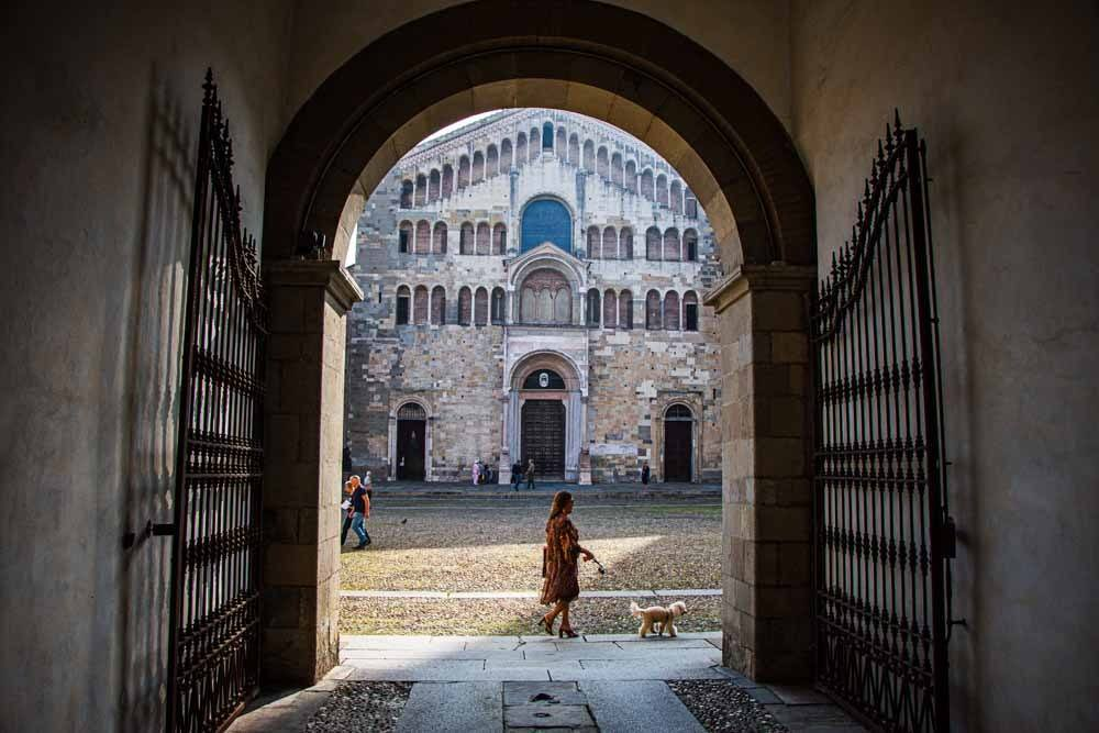 Parma Cathedral Exterior