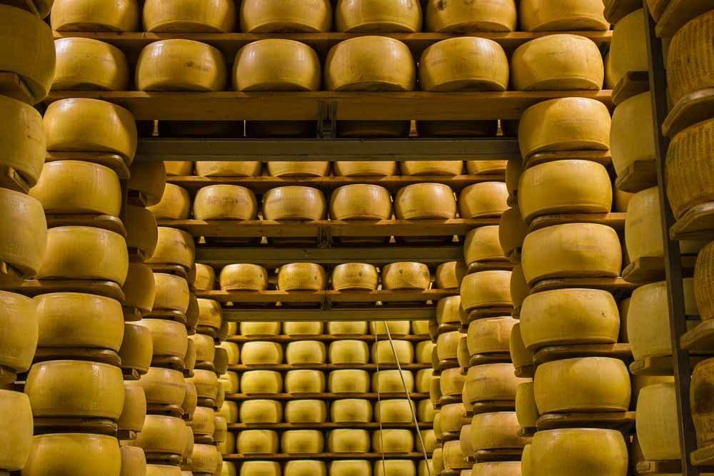 Parmigiano Reggiano Dairy near Modena