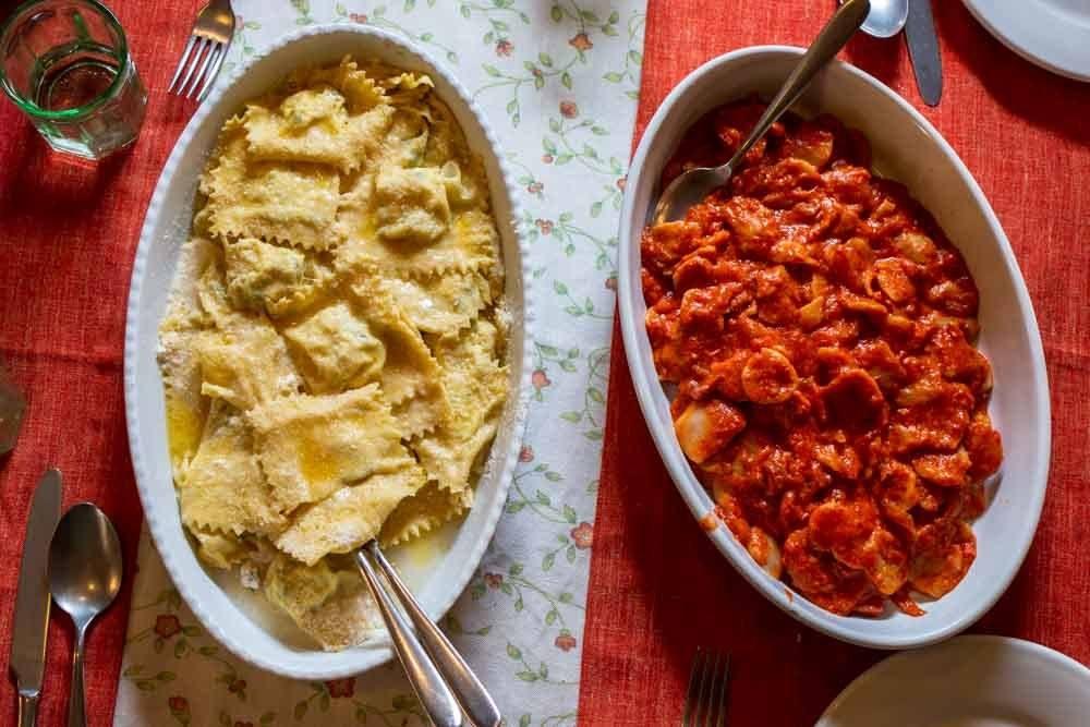 Pasta Lunch at Antica Corte Pallavicina near Parma