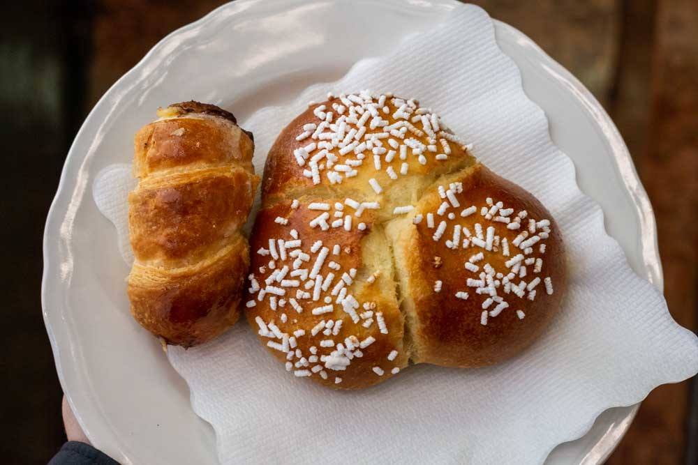 Pastries at Pasticceria Torino in Parma