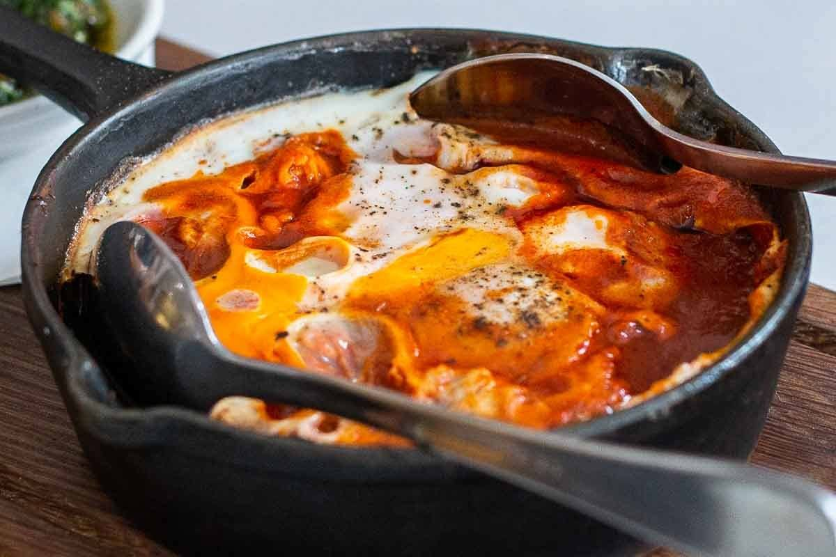 Shakshuka at Honey and Co