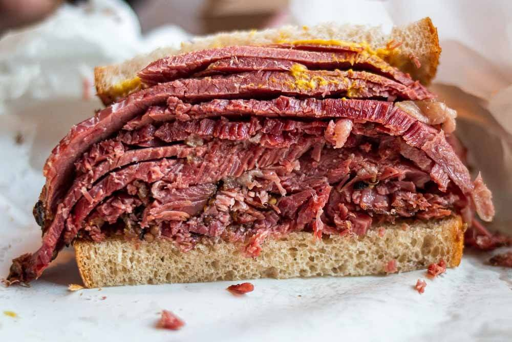 Smoked Meat at Schwartz_s in Montreal