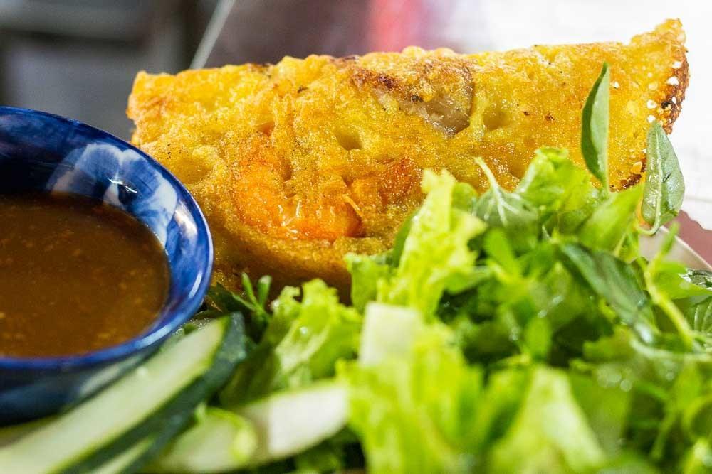 Banh Xeo at Hoi An Central Market