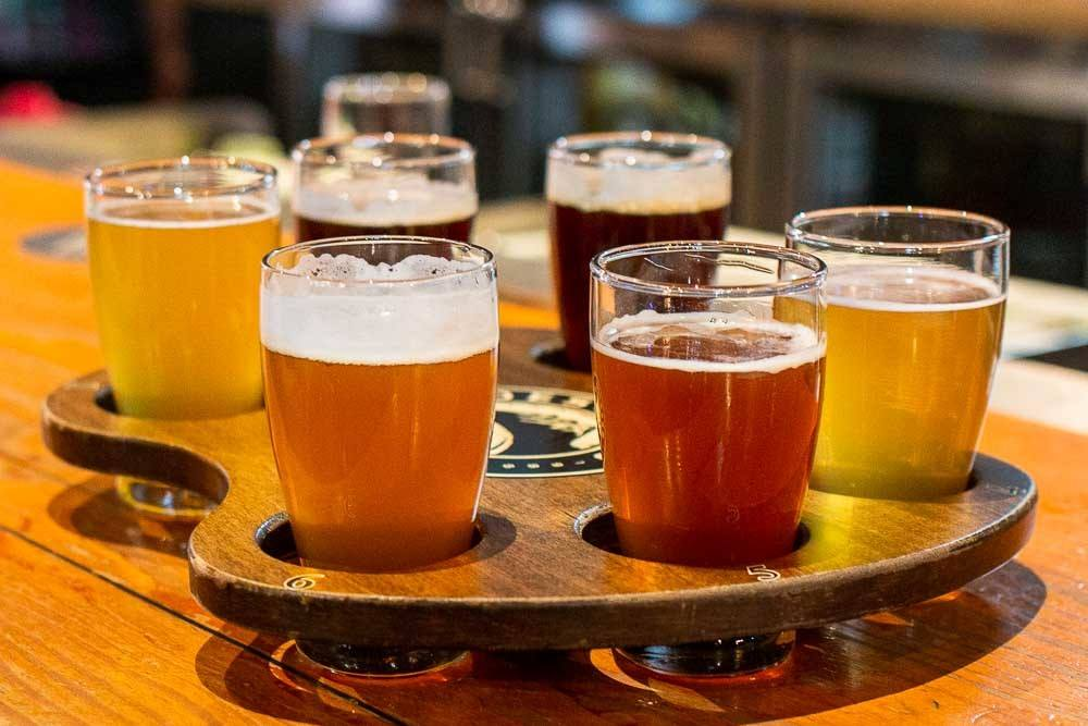 Beer Tasting at Deschutes in Portland OR