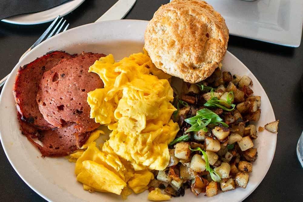 Brunch at 24 Diner in Austin
