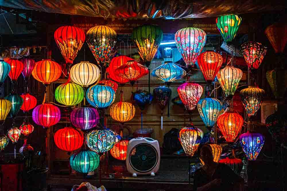 Colorful Hoi An Lanterns