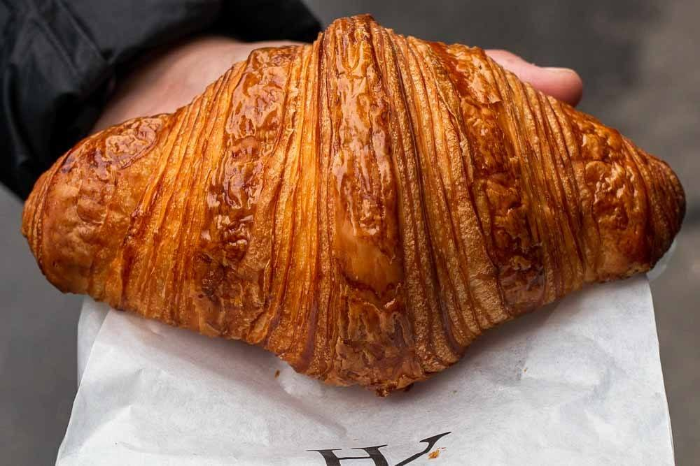 Croissant at Hugo _ Victor in Paris