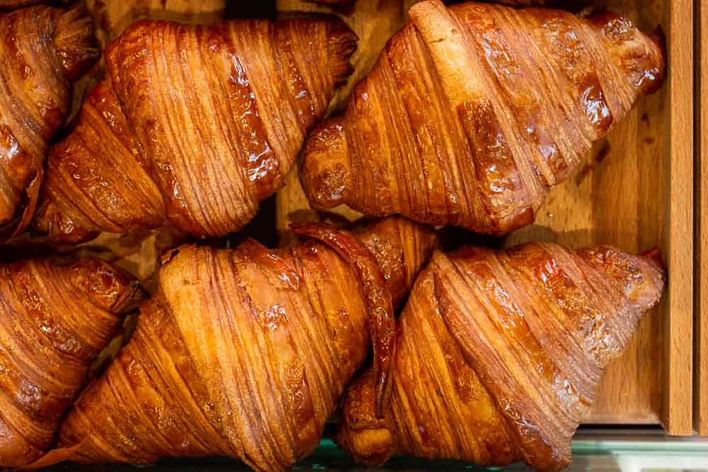Croissants at French Bastards in Paris