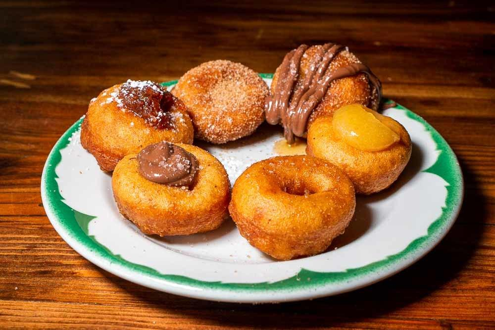 Donuts at Pips Original in Portland OR