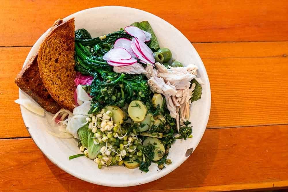 Kale Salad at Sweedeedee in Portland
