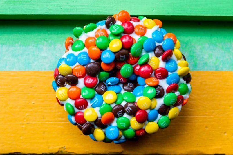 M and M Donut at Voodoo in Portland OR