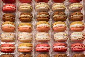 Macarons at Pierre Herme in Paris France