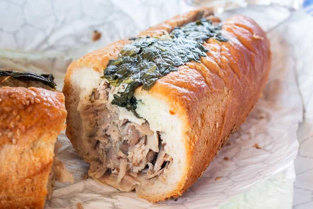 Roast Pork Sandwich at Johns Roast Pork in Philadelphia