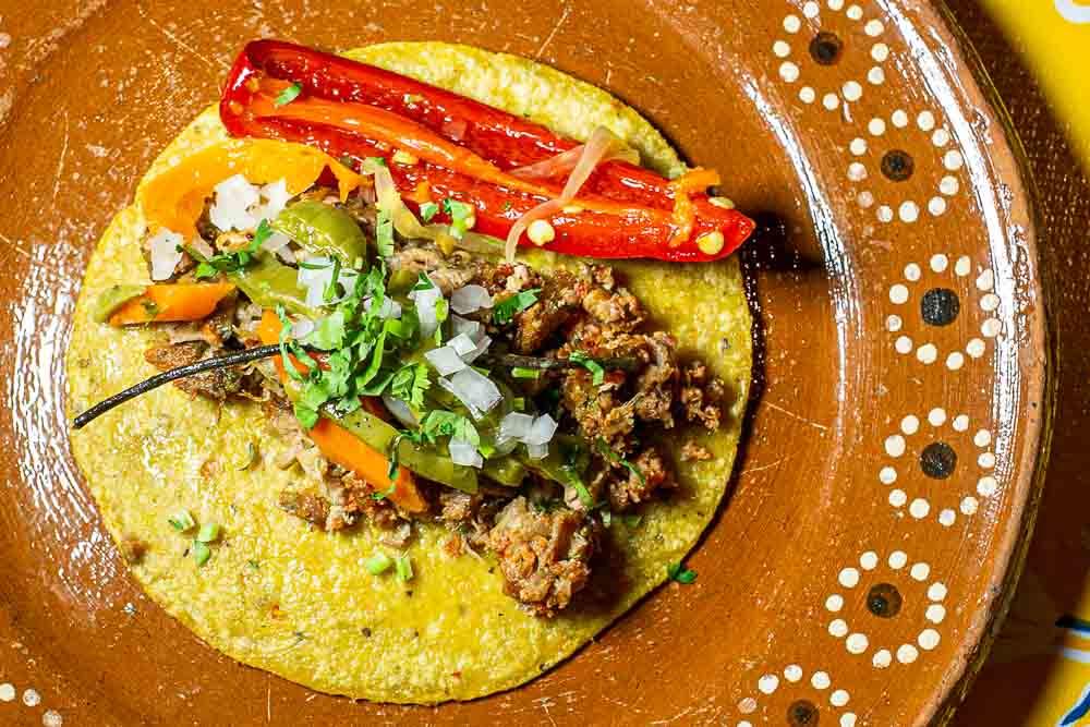 Taco at South Philly Barbacoa in Philadelphia